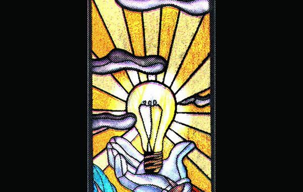 La lumière du vitrail